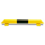 Black Bull Collision Protection Bars - 86 x 800mm - Yellow and Black
