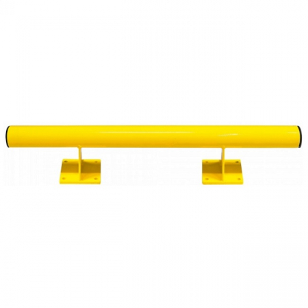 Black Bull Raised Collision Protection Bars - 200 x 1000mm - Yellow