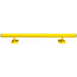 Black Bull Raised Collision Protection Bars - 200 x 1500mm - Yellow