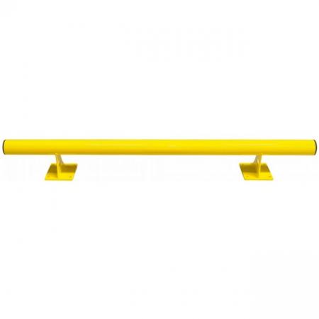 Black Bull Raised Collision Protection Bars - 200 x 1500mm - Yellow