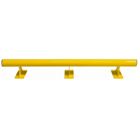 Black Bull Raised Collision Protection Bars - 200 x 2000mm - Yellow