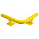 Black Bull Raised Corner Collision Protection Bars - 200 x 638 x 638mm - Yellow