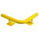 Black Bull Raised Corner Collision Protection Bars - 200 x 638 x 638mm - Yellow