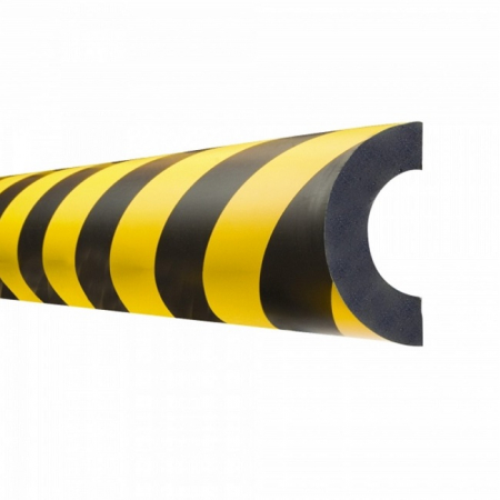 Magnetic Pipe Protection Guard - 1000mm Length - for pipes 30-50mm diameter