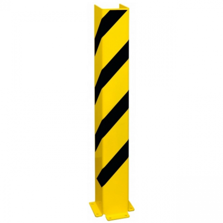 Black Bull Pallet Racking Protector - Right Angle - 1200 x 160 x 6mm