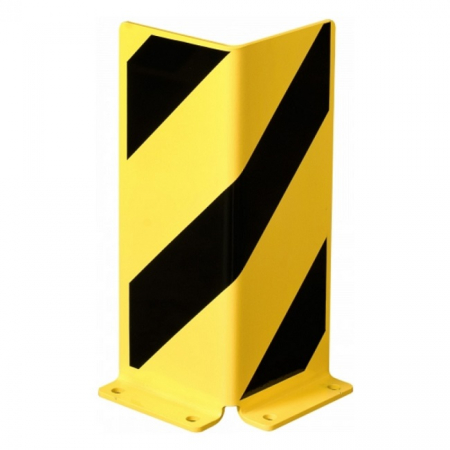 Black Bull Pallet Racking Protector - Right Angle - 400 x 160 x 6mm