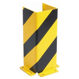 Black Bull Pallet Racking Protector - U Profile - 400 x 160 x 5mm