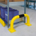 Black Bull Steel Collision Protection Guard - 350 x 750mm - Yellow and Black