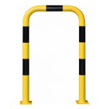 Black Bull Steel Collision Protection Guard - 1200 x 750mm - Yellow and Black