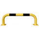 Black Bull Steel Collision Protection Guard - 350 x 1000mm - Yellow and Black