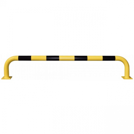 Black Bull Steel Collision Protection Guard - 350 x 2000mm - Yellow and Black