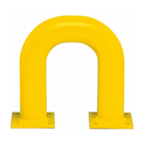 Black Bull Steel Collision Protection Guard - 350 x 375mm - Yellow