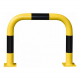 Black Bull Steel Collision Protection Guard - 600 x 750mm - Yellow and Black