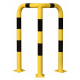 Black Bull Steel Corner Protection Guard - 1200 x 600 x 600mm - Yellow and Black