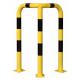 Black Bull Steel Corner Protection Guard - 1200 x 600 x 600mm - Yellow and Black