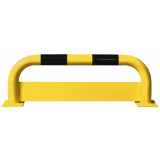 Black Bull Steel Protection Guard with Underrun Panel - 350 x 1000mm - Yellow and Black