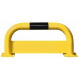 Black Bull Steel Protection Guard with Underrun Panel - 350 x 750mm - Yellow and Black