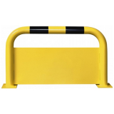 Black Bull Steel Protection Guard with Underrun Panel - 600 x 1000mm - Yellow and Black