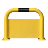 Black Bull Steel Protection Guard with Underrun Panel - 600 x 750mm - Yellow and Black