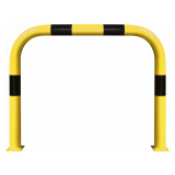 Black Bull Steel XL Collision Protection Guard - 1200 x 1500mm - Yellow and Black