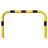 Black Bull Steel XL Collision Protection Guard - 1200 x 2000mm - Yellow and Black