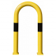 Black Bull Steel XL Collision Protection Guard - 1200 x 650mm - Yellow and Black