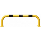 Black Bull Steel XL Collision Protection Guard - 600 x 2000mm - Yellow and Black