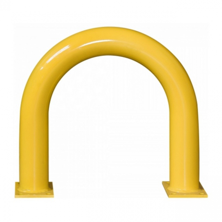 Black Bull Steel XL Collision Protection Guard - 600 x 650mm - Yellow and Black
