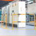 Floor Mounting Steel Hoop Guard - 1000 x 1500mm - Yellow and Black