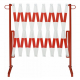 Traffic-Line Heavy Duty Extendable Trellis Barrier - extends up to 4 metres
