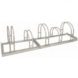 Traffic-Line 5 Space Hi-Hoop Bicycle Rack