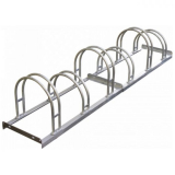 Traffic-Line 6 Space Hi-Hoop Bicycle Rack