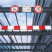 Traffic-Line Aluminium Height Restrictor Bar with Suspension Chains - Red and White - choice of lengths