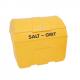 7 Cu Ft Curved Top Grit Bin - 200 Litre / 200 kg Capacity