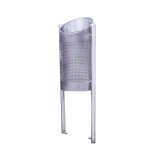 The Stand-up Stainless Steel Perforated Bin