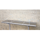 The Promenade Stainless Steel Bench