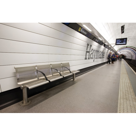 The Metro Stainless Steel Seat