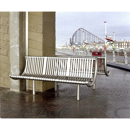 The Promenade Stainless Steel Seat