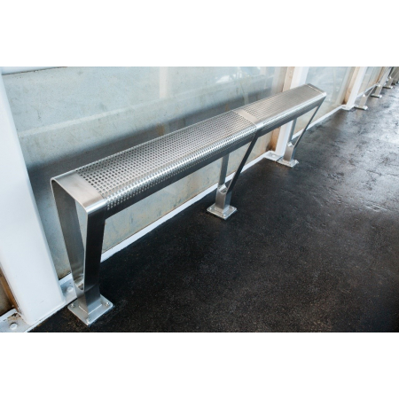 The Stand-up Stainless Steel Perch Bench