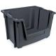Stackable Open Fronted Storage Pick Bin - 50 Litre - Grey