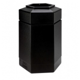 Hexagon Shaped Litter Bin - 115 Litre
