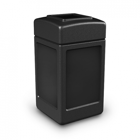 Square Open Top Bin - 140 Litres