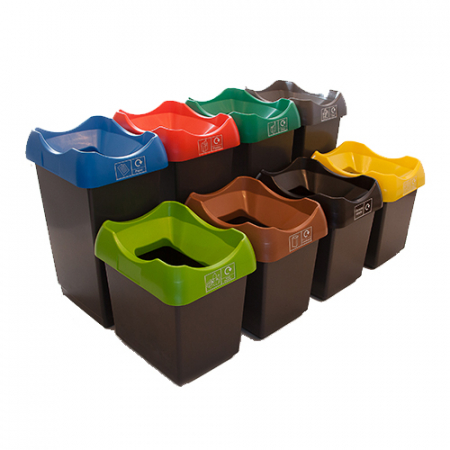 Customisable Plastic Waste Bin - 50 Litres