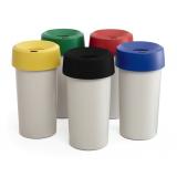 Grey Base Plastic Bin - 50 Litre