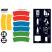 Waste Separation Recycling Bin - 40 Litre