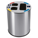 Waste Separation Recycling Bin - 40 Litre