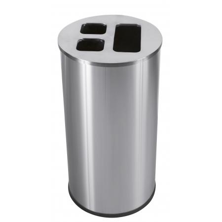 Waste Separation Recycling Bin - 60 Litre