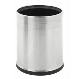 Steel Open Top Concealed Liner Waste Bin - 10 Litre