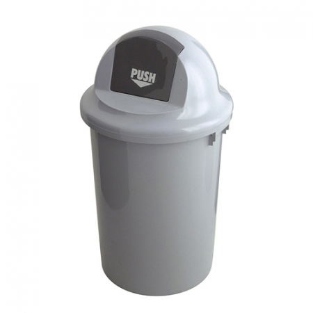 60 Litre Plastic Push Bin