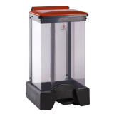 65 Litre Plastic Fire Retardant Clear Body Sackholder